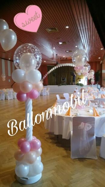 Galerie Hochzeitsdekorationen Ballonmobil Ballondekorationen