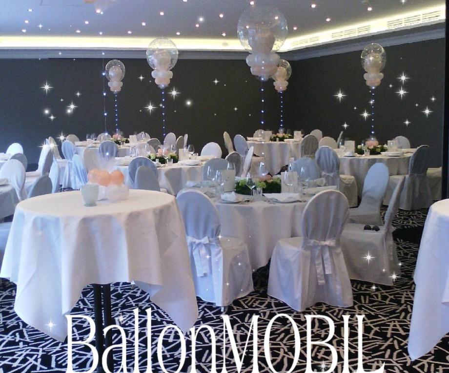 Ballonmobil Ballondekorationen Ballondeko Hochzeitsdekoration